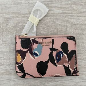 Kate Spade zip card holder
